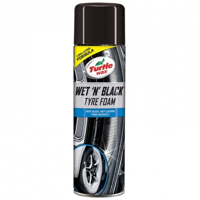 Wet n Black Tyre Foam, 500 ml