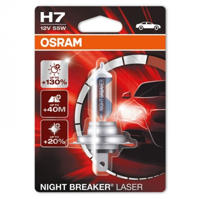 Auto sijalica H7 12V55W Night Breaker Laser